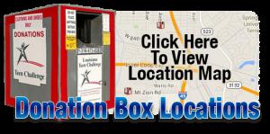 Donation Boxes - Louisiana Adult & Teen Challenge